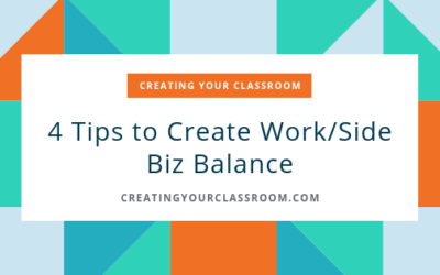 4 Tips to Create Work/Side Biz Balance