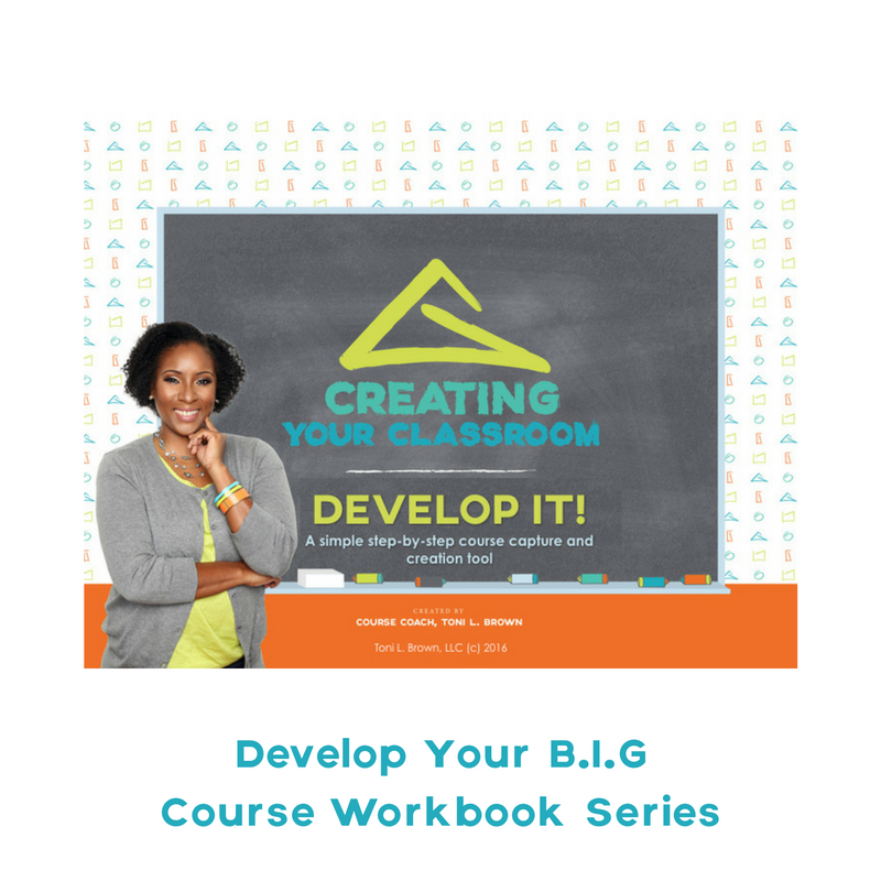 Develop Your Course Idea Workbook