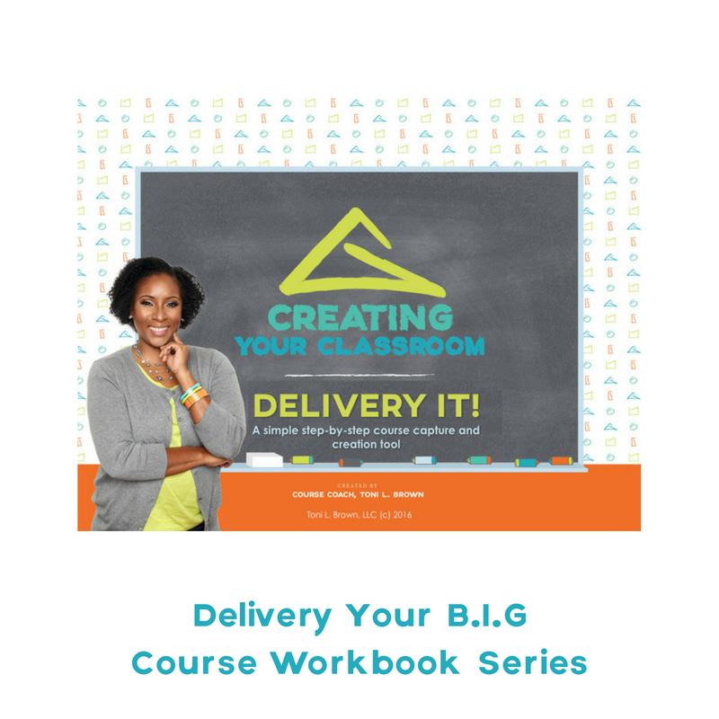 Deliver Your Course Idea Workbook