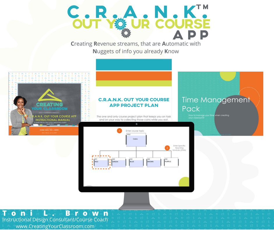 CRANK OUT YOUR COURSE APP PACK